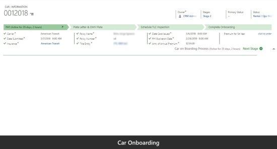 Car Onboarding
