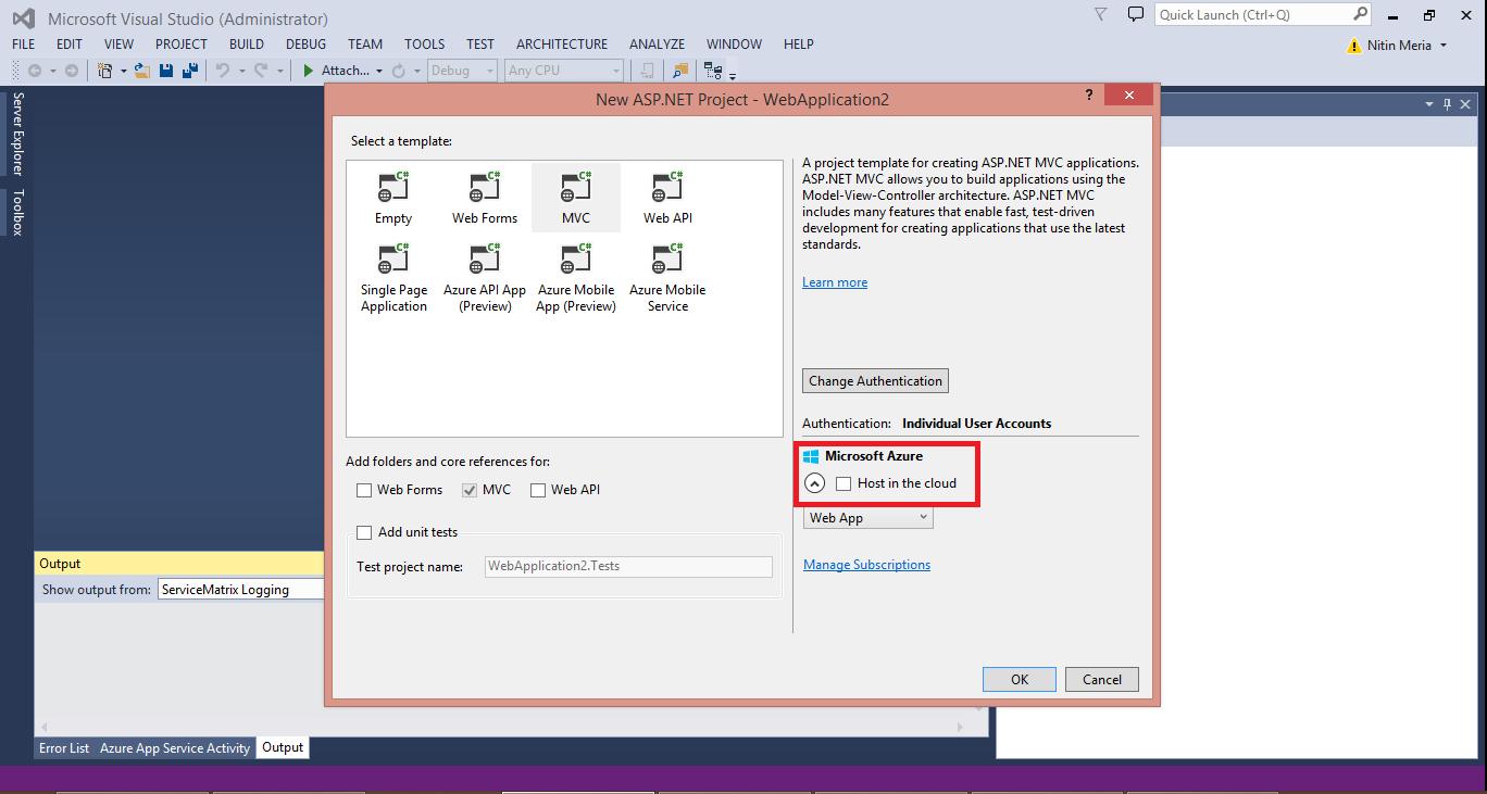 Azure Select Hosting