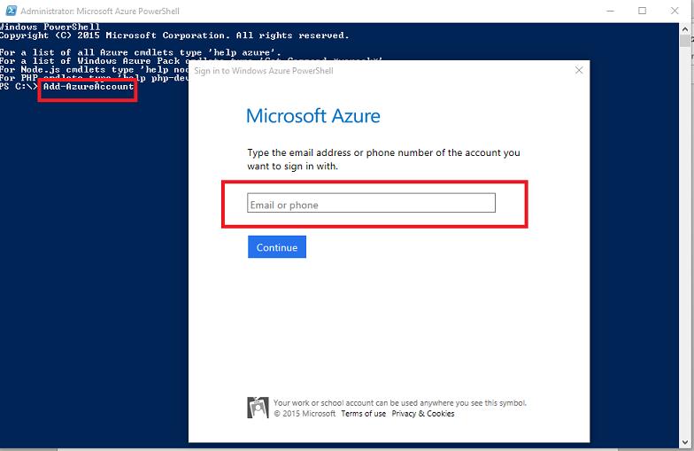 Azure Console Login & Logout using Azure PowerShell