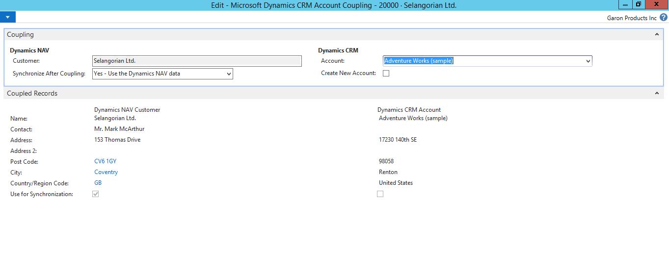 Integrating Microsoft Dynamics CRM with Microsoft Dynamics