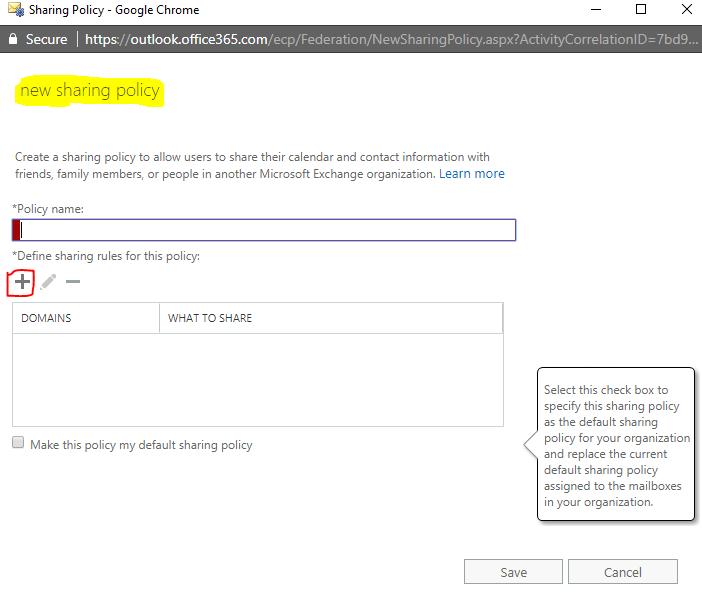 Calendar sharing in Exchange Online - CloudFronts