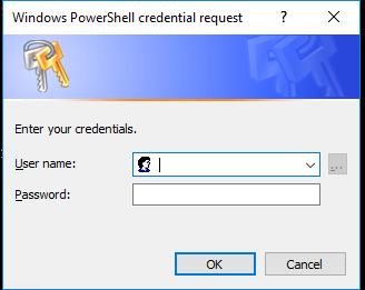 PowerShell login
