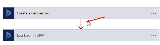 Red Dotted Line Error Logging