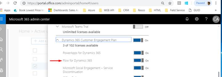 Office 365 Microsoft Flow License
